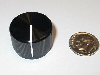 Hi-q Solid Aluminum Knob For 14 Shaft Black Windicator Line .937 Od Nos
