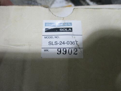Sola linear open frame DC power supply Model SLS-24-036T  24VDC 3.6 amps