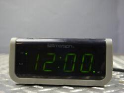 Genuine Emerson (CKS1702) Electric Wired Smart Set Clock Radio
