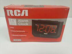 Digital Alarm Clock Home Decor Large Red LED Display Big Numbers Bedroom Clock