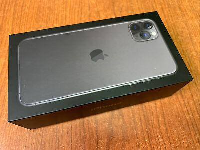   iPhone 11 Pro Max 256GB Gray Unlocked GSM/CDMA AT&T T-mobile Verizon