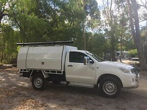 Toyota Hilux white front flares Claremont Nedlands Area Preview