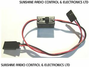 RC Futaba JR Type Switch For Nitro Electric Car Buggy Receiver RX Switch Harness