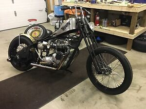 1969 Triumph Bonneville Hardtail Chopper