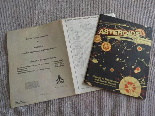 Atari Asteroids Operation Maintenance and Service Manual #2