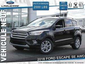2018 Ford Escape SE**AWD*CAMERA*BLUETOOTH*A/C**