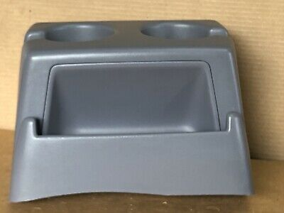1992-1996 FORD F-150 DUAL CUP HOLDER LIGHT GRAY STORED INDOORS FOR MANY YEARS