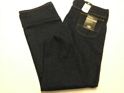 - NWT Dickies Jeans 5 Pocket Blue Regular Fit Straight Leg 9393RNB Rinsed Indigo