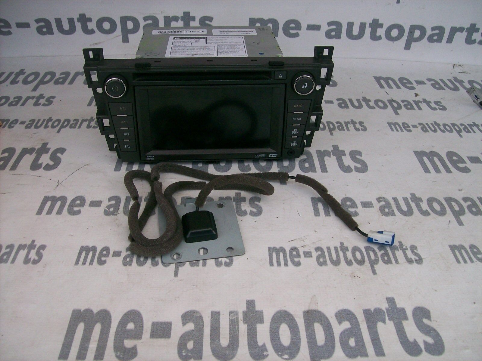 used cadillac dts interior parts for sale page 2 2009 2011 Buick Lucerne Cadillac Dts Electrical Fuse Box Upper 2007 cadillac dts navigation radio stereo cd dvd player 15912143 u3r antenna