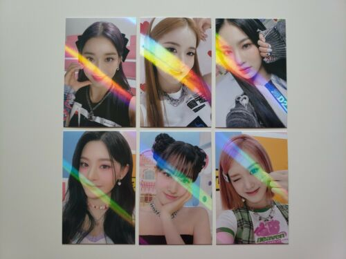 Stayc Staydom Official Makestar Exclusive Holo Photocards