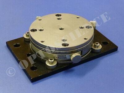 Newport Tr80s-bl Utr80s Precision Rotation Stage Rotary Platform With Base