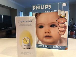 Baby monitor and Grobag temp egg Mullaloo Joondalup Area Preview