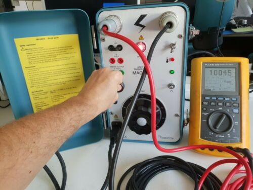 Megger Magnus step up transformer to 2200V 1A 230V version mint conditions