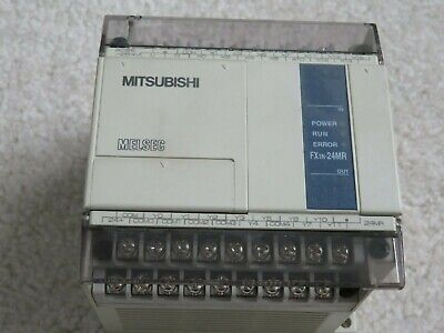 Mitsubishi Fx1n-24mr Programable Logic Controller Plc