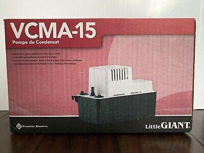 Little Giant Vcma-15 Condensate Pump