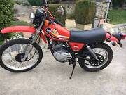 Honda XL250S Classic Trail Bike 1979 Shearwater Latrobe Area Preview