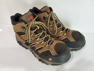 Merrell J15753 Moab 2 Composite Safety Toe Waterproof Work Boots Size 9