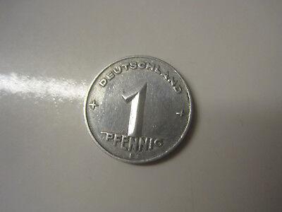 DDR 1 Pfennig 1949 E  #602