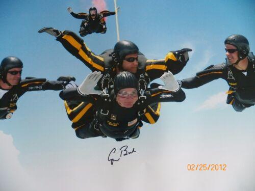 President Bush autographed 16x20 skydiving photo