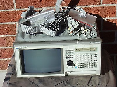 Hpagilent 1661a 102-channel 100 Mhz State Logic Analyzer With Pod Cables And On