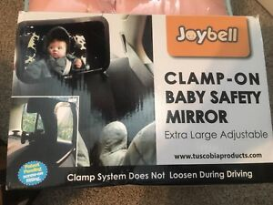 CLAMP ON LARGE BABY MIRROR