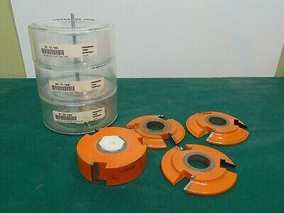 Freeborn Pro-line Carbide Cutter Shaper 3-wing Cutter Shaper Tool Patterns Lot