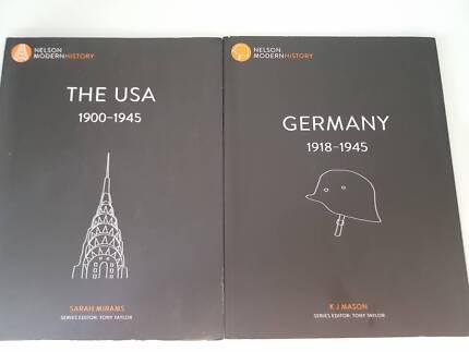 Nelson Modern History Germany and USA - K J Mason ATAR YR11