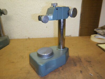 Mitutoyo Dial Indicator Checker Checking Stand With Anvil Machinist Tool Lot L