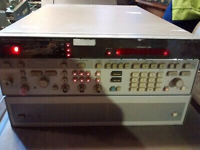 Hp Agilent Keysight 8673c Synthesized Signal Generator 18.6 Ghz Rf Generator