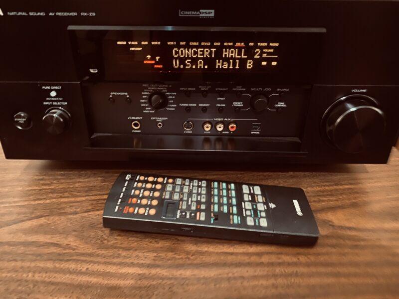 YAMAHA RX-Z9 9. Digital DSP Surround Sound Receiver