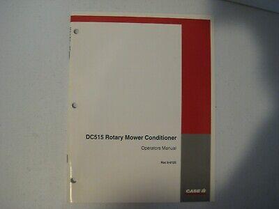 New Case Ih Dc515 Rotary Mower Conditioner Operators Manual Rac 6-6120