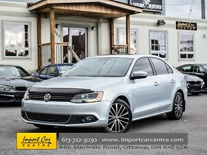 2014 Volkswagen Jetta Highline DIESEL 6SPD LEATHER NAV FENDER WO