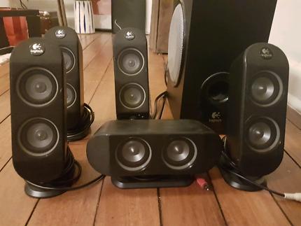 Logitech 5 speaker surround sound system