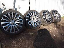 MERCEDES G2 MAGS ON TYRES & WHEEL NUTS Mount Gravatt Brisbane South East Preview