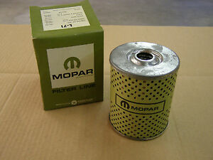 NOS-OEM-Mopar-Oil-Filter-L-71-Display-Item-Chrysler-Dodge-Plymouth-Lancer-Truck