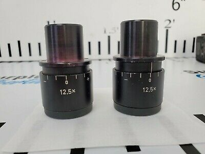 Carl Zeiss Opmi 12.5x Eyepieces Free Shipping