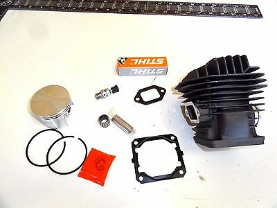 Used, NEW Nikasil cylinder piston Stihl MS660 066 Magnum 54mm top end Gaskets Chainsaw for sale  Holden
