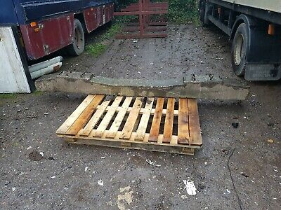 8 x Concrete railway sleepers