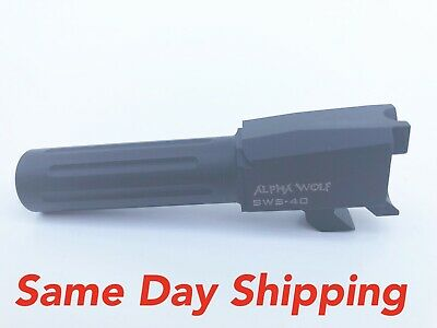 Lone Wolf Alpha Wolf Replacement Barrel For Smith & Wesson M&P AW-SWS40N