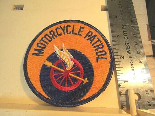 New Orleans Police Motorcycle Patrol patch NOS LA Louisiana wheel arrow wings