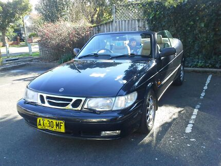 2000 SAAB 9-3 CONVERTIBLE 9 M REGO Homebush Strathfield Area Preview