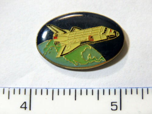 Space Shuttle Lapel Pin Badge