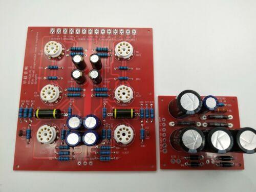 Assembled EL84 parallel single-end post-level Tube Amplifier PCB kit