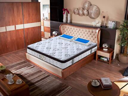 Brand New Hard Spring, Coconut Fiber Mattress with Latex Euro top