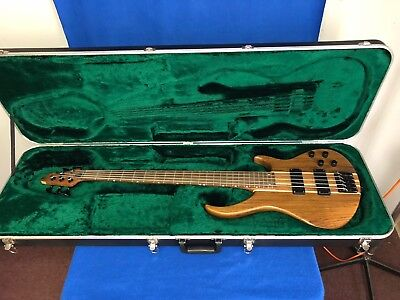 Peavey Grind Ntb 5 String Electric Bass Guitar W Ohsc No Reserve