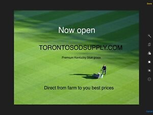 Sod supply farm fresh direct free delivery  cut early mornings