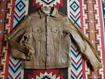 The Flat Head TFH Denim Type Trucker Leather Jacket Steerhide Iron Heart Denim Leather Flats