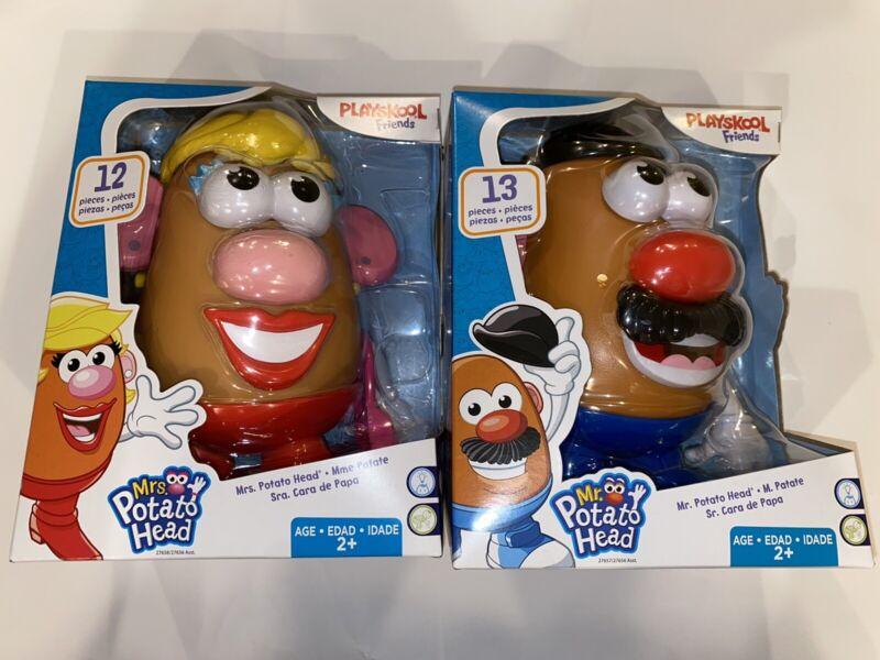 Hasbro Mr. & Mrs. Potato Head Classic Toys Set Playskool Friends NEW Free Ship