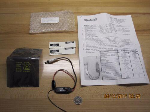 TSCM Wireless Video Transmitter, VideoComm Technologies, Model: T-906hp