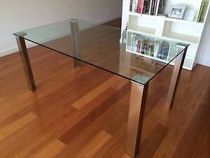 Glass Dining Table from Nick Scali Bondi Eastern Suburbs Preview